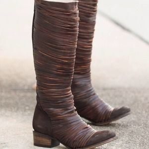 Freebird by Steven Logan Boot Brown Leather